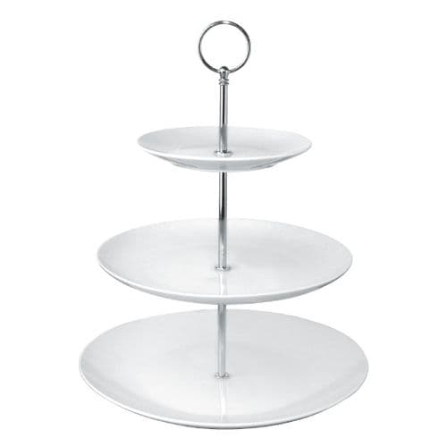GG881 Olympia 3 Tier Afternoon Tea Cake Stand